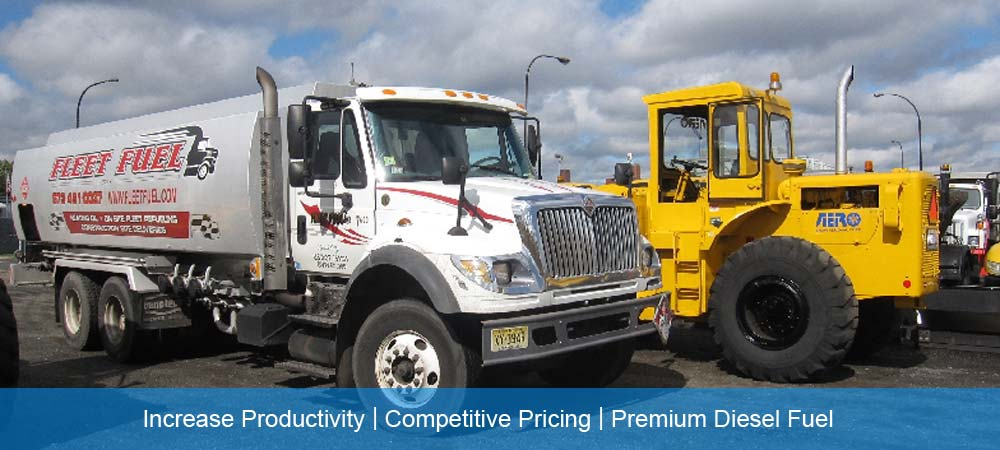 Fleet Fuel On-site Diesel Heavy Duty Construction Equipment Fueling Service NJ, NYC, PA