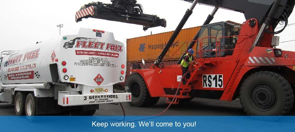 Fleet Fuel On-site Diesel Fueling Service NJ