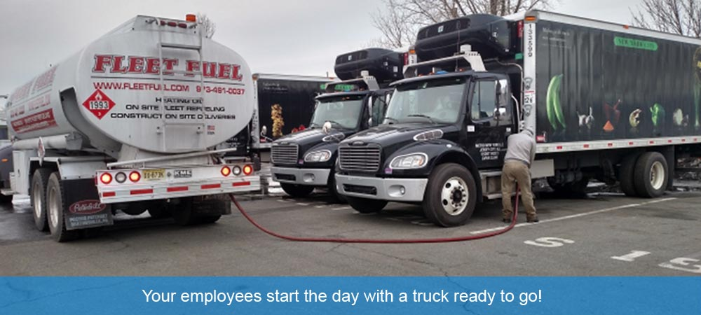 Fleet Fuel On-site Diesel Fueling Service NJ, NYC, PA